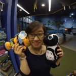 things always trying to kiss Jane….even stuffed animals